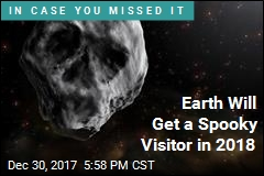 Earth to Be Visited by a Halloween 'Skull'