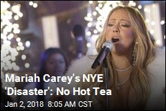 Missing Tea Steals Mariah's NYE Spotlight