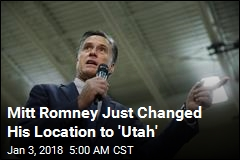 Romney Drops Big Hint at Utah Senate Run