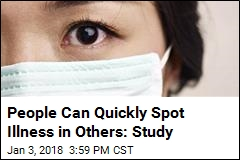 People Can Quickly Spot Illness in Others: Study