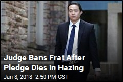 Fraternity Banned After Hazing Death