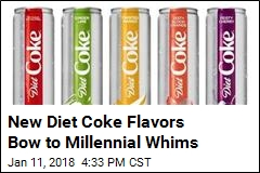 New Diet Coke Flavors Bow to Millennial Whims