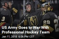 Army Challenging Nickname of NHL's Las Vegas Franchise
