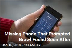 Missing Phone That Prompted Brawl Found Soon After