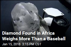 Diamond Found in Africa Weighs More Than a Baseball