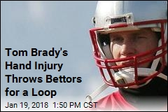 Tom Brady's Hand Injury Throws Bettors for a Loop