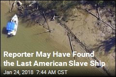 Reporter May Have Found the Last American Slave Ship