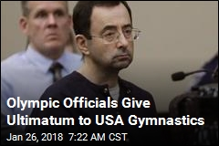 Olympics Panel Orders Entire Gymnastics Board to Quit