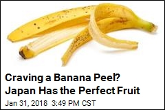 'Bizarre' Banana Boasts a Peel You Can Eat