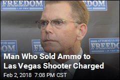 Man Who Sold Ammo to Las Vegas Shooter Charged