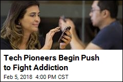 Tech Pioneers Begin Push to Fight Addiction