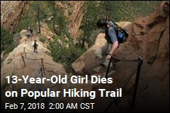 13-Year-Old Girl Dies on Popular Hiking Trail