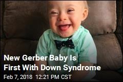 New Gerber Baby Is First With Down Syndrome