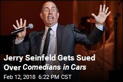 Jerry Seinfeld Gets Sued Over Comedians in Cars