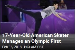 American Skater Lands First-Ever Olympic Quadruple Lutz