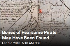 Bones of Fearsome Pirate May Have Been Found