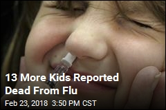 13 More Kids Reported Dead From Flu