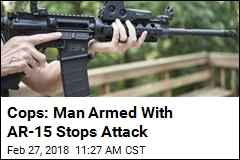 Neighbor With AR-15 Stops Knife Attack
