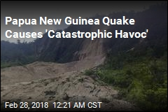 Papua New Guinea Quake Kills at Least 15