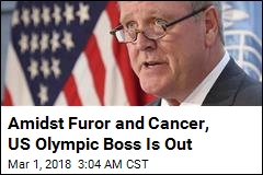 Amidst Furor and Cancer, US Olympic Boss Is Out