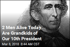 Grandkids of Our 10th President Are Still Alive