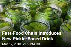 Fast-Food Chain Introduces New Pickle-Based Drink