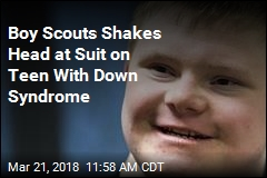 Boy Scouts Shakes Head at Suit on Teen With Down Syndrome