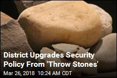 District That Armed Kids With Rocks Beefs Up Security