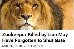 Mexican Zookeeper Killed by Lion Forgot to Shut Gate