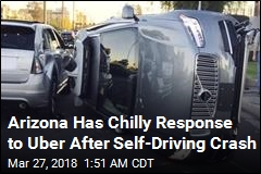 Arizona Suspends Uber Self-Driving Program