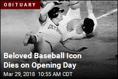 A Baseball Legend Dies on Opening Day