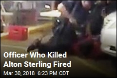 Officer Who Killed Alton Sterling Fired