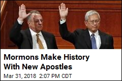 Mormons Make History With New Apostles