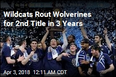 Wildcats Rout Wolverines for 2nd Title in 3 Years
