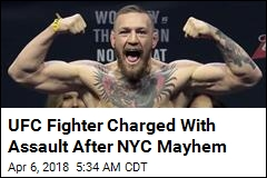 Conor McGregor Charged After Media Event Mayhem