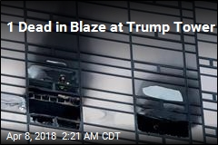 1 Dead in Blaze at Trump Tower