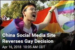 After Outcry, China Site Won't Censor Gay Content