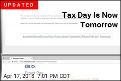 Happy Tax Day; IRS Online Payment Site Is Down