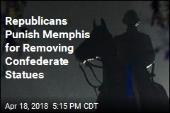 City Punished for Removing Confederate Statues
