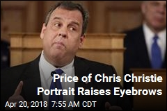 Price of Chris Christie Portrait Raises Eyebrows