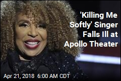 Scare for Singer Roberta Flack During Apollo Appearance
