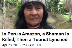 After a Shaman's Murder, a Canadian Man Is Lynched