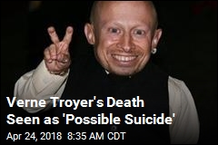 Verne Troyer's Death Seen as 'Possible Suicide'