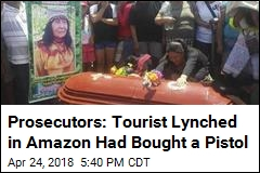Canadian Lynched in Amazon Is Suspected of Murder