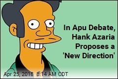 In Apu Debate, Hank Azaria Proposes a 'New Direction'