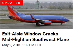 Southwest Plane Forced to Land Due to Cracked Window