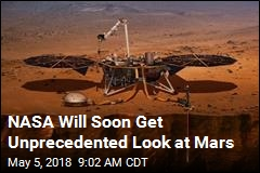 NASA Launches New Mars Mission