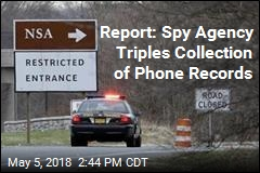 Report: Spy Agency Triples Collection of Phone Records