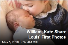 William, Kate Share Louis' First Photos