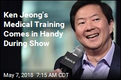 Ken Jeong's Medical Training Comes in Handy During Show